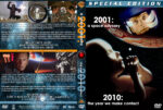 2001: A Space Odyssey / 2010: The Year We Make Contact Double Feature (1968-1984) R1 Custom Cover