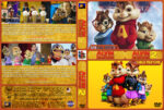 Alvin and the Chipmunks Double Feature (2007-2009) R1 Custom Cover