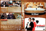 Arthur / Arthur 2: On the Rocks Double Feature (1984-1988) R1 Custom Covers