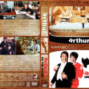 Arthur / Arthur 2: On the Rocks Double Feature (1984-1988) R1 Custom Covers