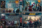 The Avengers Double Feature (2012-2015) R1 Custom Covers