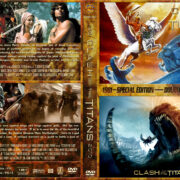 Clash of the Titans Double Feature (1981-2010) R1 Custom Cover