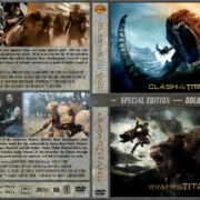 Clash of the Titans / Wrath of the Titans Double Feature (2010-2012) R1 Custom Cover