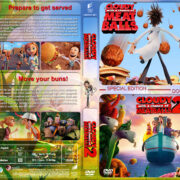 Cloudy with a Chance of Meatballs Double Feature (2009-2013) R1 Custom Cover