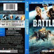 Battleship (2012) R1 Blu-Ray Cover