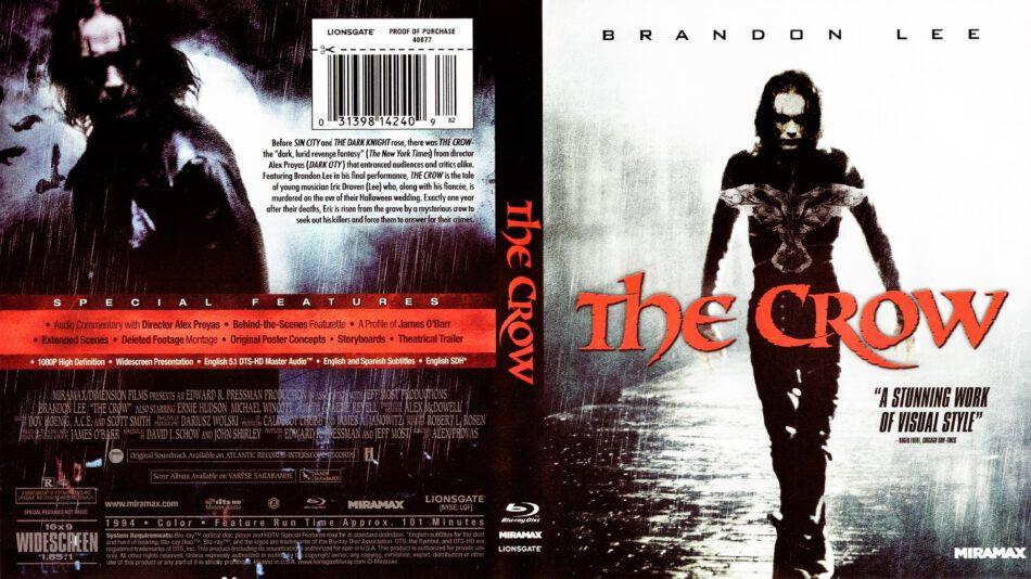 The Crow Blu Ray