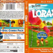The Lorax (2012) R1 Blu-Ray Cover