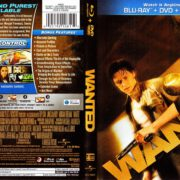 Wanted (2008) R1 Blu-Ray Cover