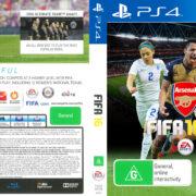 FIFA 16 Arsenal Edition (2015) Custom PS4 USA