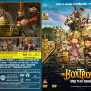 The Boxtrolls (2014) R2 Custom DVD Cover