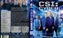 CSI Cyber: Staffel 1 (2015) R2 German Custom Cover & labels