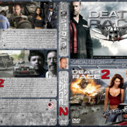 Death Race Double Feature (2008-2010) R1 Custom Cover