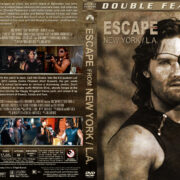 Escape from New York / L.A. Double Feature (1981-1996) R1 Custom Cover