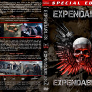The Expendables Double Feature (2010-2012) R1 Custom Covers
