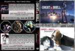 Ghost in the Shell Double Feature (1995-2004) R1 Custom Cover