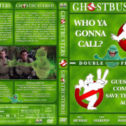 Ghostbusters Double Feature (1984-1989) R1 Custom Cover