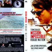 Mission: Impossible – Rogue Nation (2015) R2 German Blu-Ray Covers