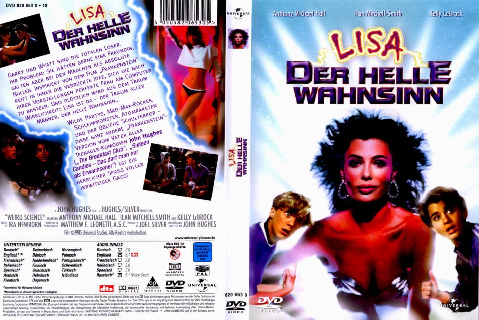 L.I.S.A. - Der helle Wahnsinn dvd covers (1985) R2 German