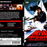 Mad Mission 4 - Man stirbt nicht zweimal (1986) R2 German Cover