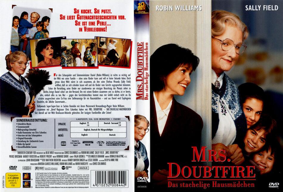 Mrs Doubtfire Das Stachelige Kindermadchen 1993 R2 German