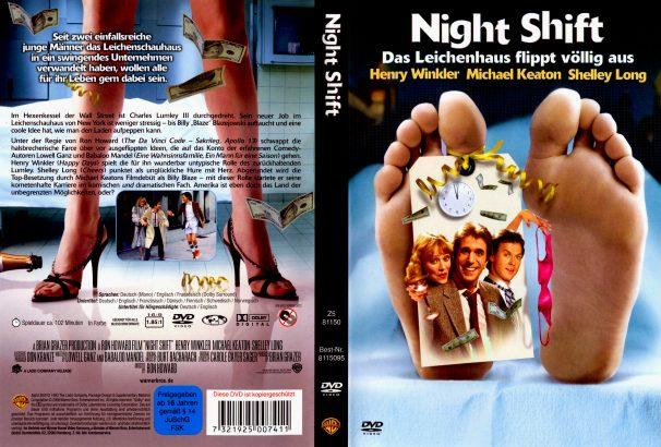 Nightshift - Das Leichenhaus flippt völlig aus (1982) R2 German Cover