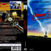 Nummer 5 lebt! (1986) R2 German Cover