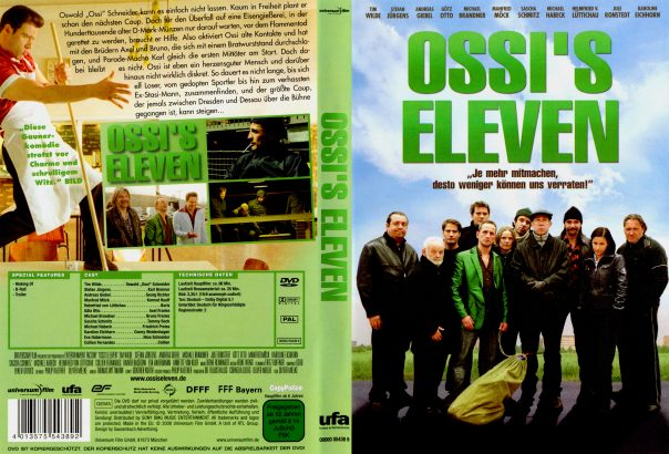 Ossi's Eleven (2008) R2 German Cover