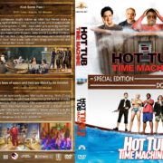 Hot Tub Time Machine Double Feature (2010-2015) R1 Custom Cover