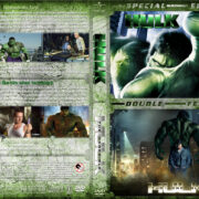 Hulk / The Incredible Hulk Double Feature (2003-2008) R1 Custom Cover