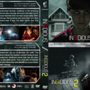 Insidious Double Feature (2010-2013) R1 Custom Cover
