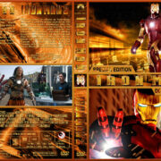 Iron Man Double Feature (2008-2010) R1 Custom Cover