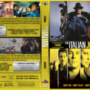 The Italian Job Double Feature (1969-2003) R1 Custom Cover