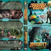 Journey to the Center of the Earth / Journey 2 the Mysterious Island Double (2008-2012) R1 Custom Cover