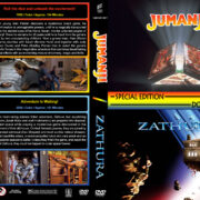 Jumanji / Zathura Double Feature (1995-2005) R1 Custom Cover