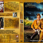 Allan Quatermain: King Solomon's Mines / Allan Quatermain and the Lost City of Gold Double Feature (1985-1987) R1 Custom Cover