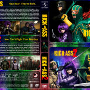 Kick-Ass Double Feature (2010-2013) R1 Custom Cover