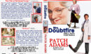 Mrs. Doubtfire / Patch Adams Double Feature (1993-1998) R1 Custom Cover