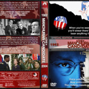 Manchurian Candidate Double Feature (1962-2004) R1 Custom Covers