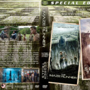 The Maze Runner Double Feature (2014-2015) R1 Custom Covers