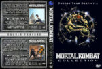 Mortal Kombat Double Feature (1995-1997) R1 Custom Cover