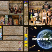 Meet the Spartans / Disaster Movie Double Feature (2008) R1 Custom Cover