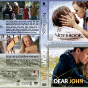 The Notebook / Dear John Double Feature (2004-2010) R1 Custom Cover