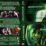 Quarantine Double Feature (2008-2011) R1 Custom Cover