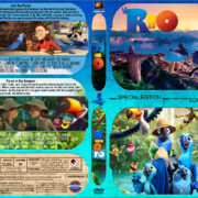 Rio / Rio 2 Double Feature (2011-2014) R1 Custom Cover