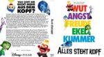 Alles steht Kopf (2015) R2 German Custom Blu-Ray Cover & label