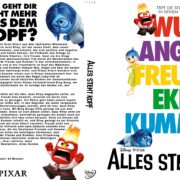 Alles steht Kopf (2015) R2 German Custom Blu-Ray Cover & label