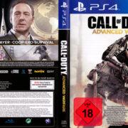 Call of Duty Advanced Warfare (2014) V2 PS4 German Cover