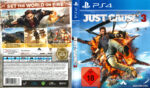 Just Cause 3 (2015) PS4 German Cover
