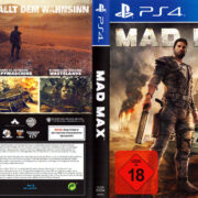 Mad Max (2015) PS4 German Cover