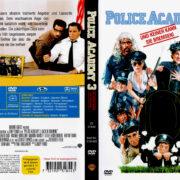 Police Academy 3 – …und keiner kann sie bremsen (1986) R2 German Cover